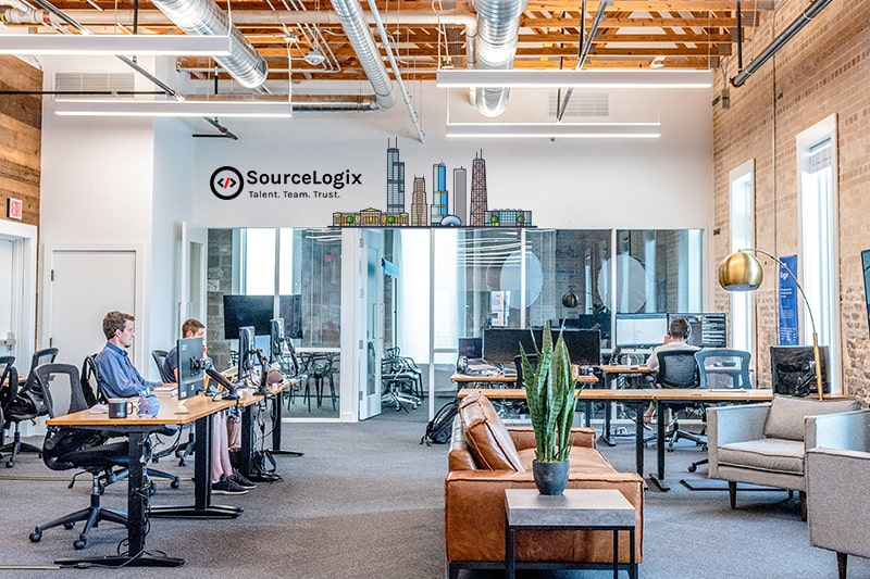 SourceLogix office in chicago, USA